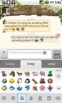 go短信加强版emoji表情包图片