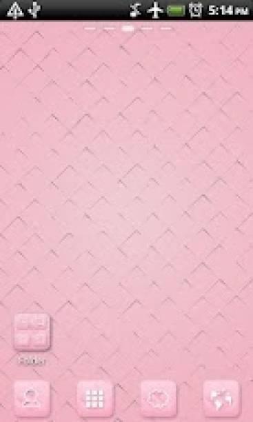 go主题-粉色格子(桌面美化)