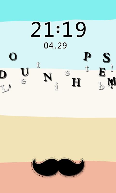 可爱妄想症-fun主题锁屏壁纸桌面-手机美化-安卓手机