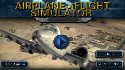 3d飞机飞行模拟器 airplane
