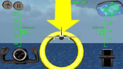 3d飞机飞行模拟器 airplane flight simulator