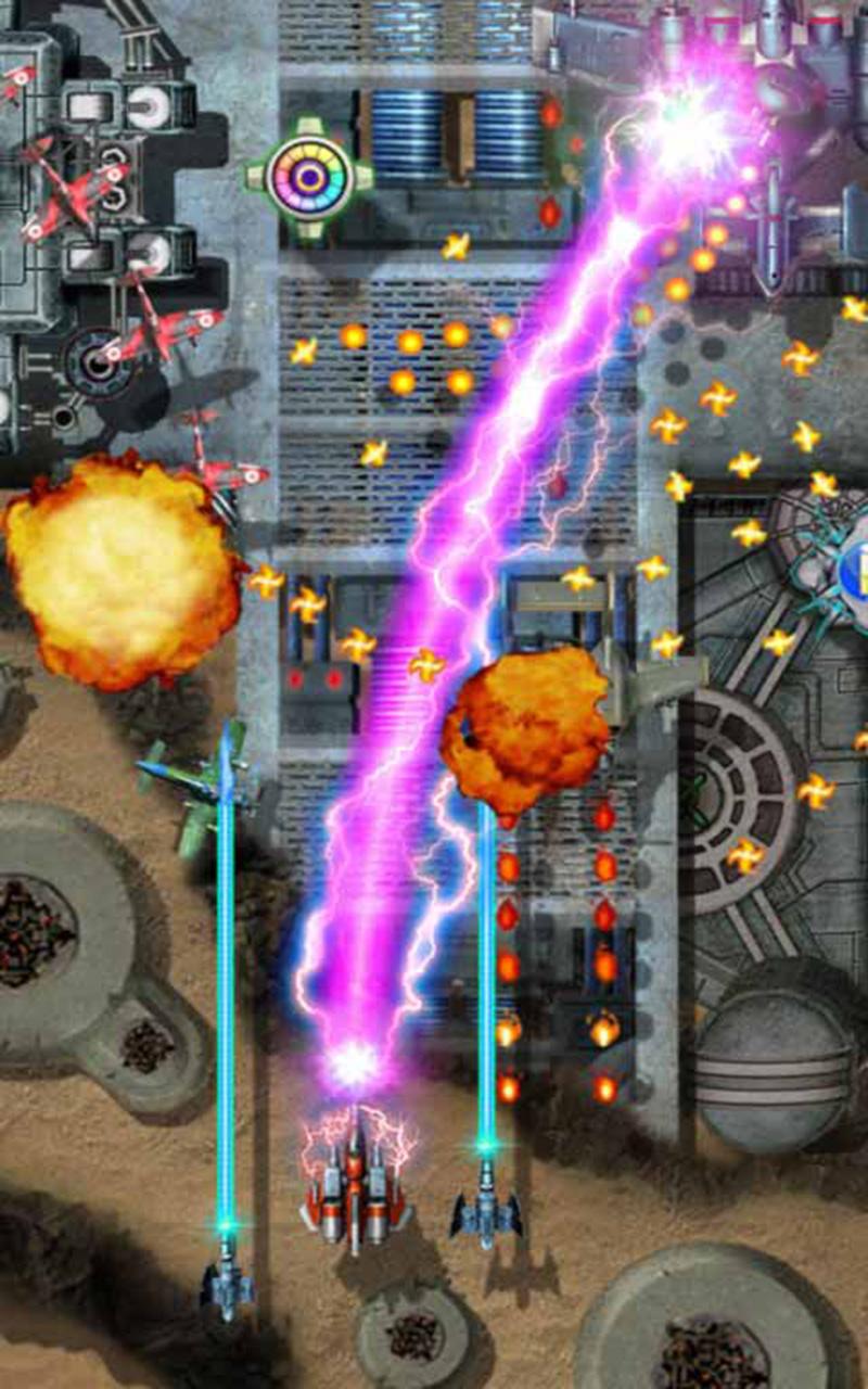 雷电打飞机-动作射击-安卓android手机游戏下载-软件
