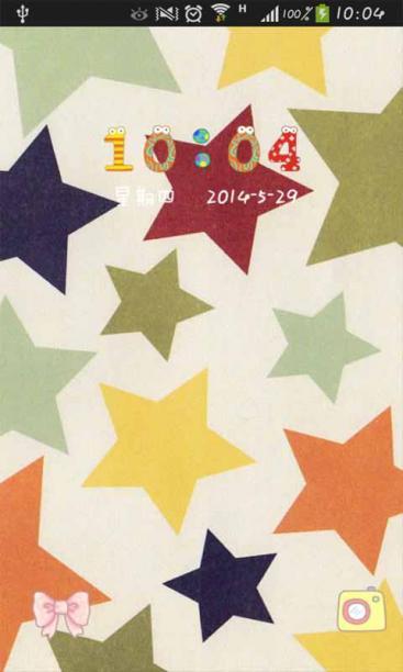 平铺小星星-91主题桌面免费