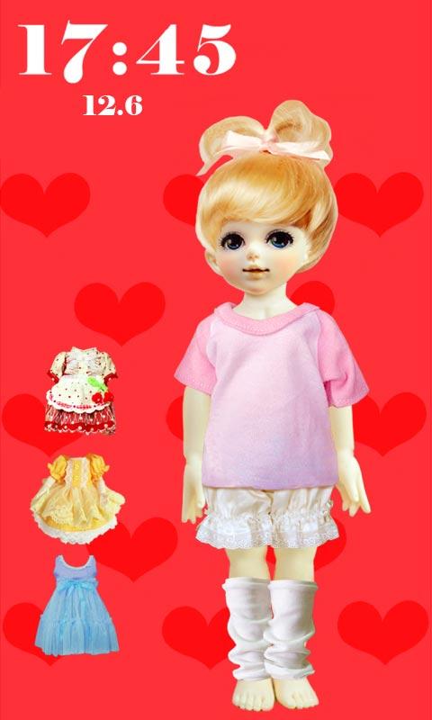 首页 应用 手机美化 > 芭比娃娃可爱锁屏