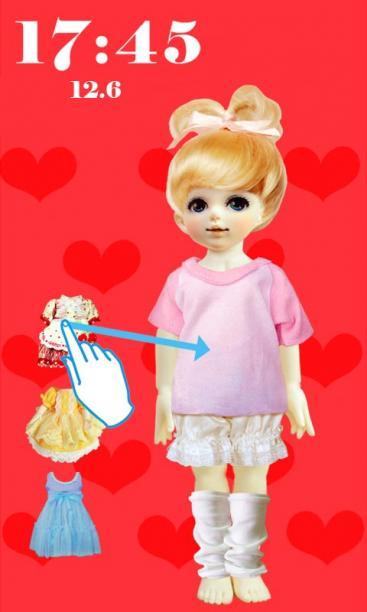 芭比娃娃可爱锁屏-手机美化-安卓android手机软件