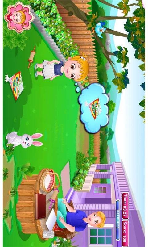 可爱宝贝放风筝-角色扮演-安卓android手机游戏下载