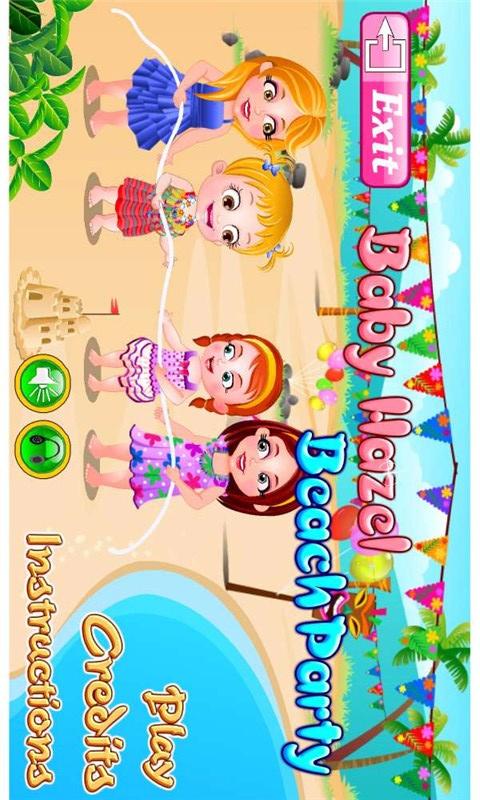 可爱宝贝海滩派对-经营养成-安卓android手机游戏