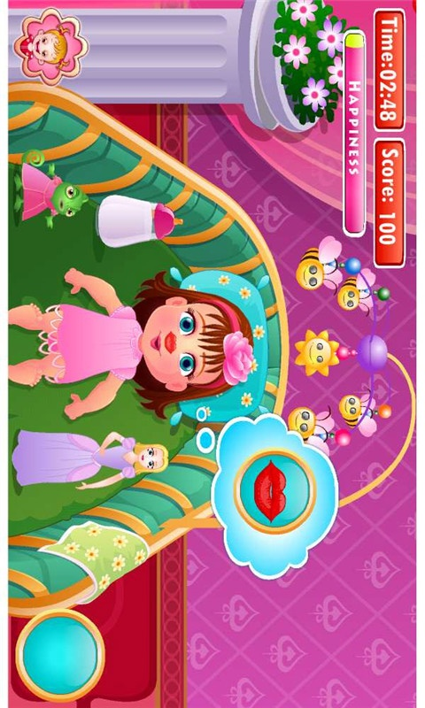 可爱宝贝公主洗澡-休闲益智-安卓android手机游戏
